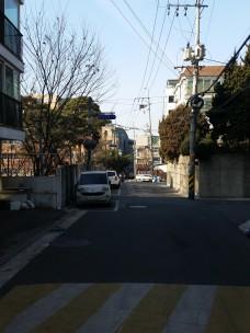 Blick Richtung Hauptstraße