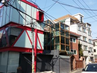 Verschiedene Standardhäuser