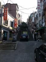Hinauf nach Haebangchon