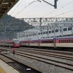 Im Zug um Südkorea herum